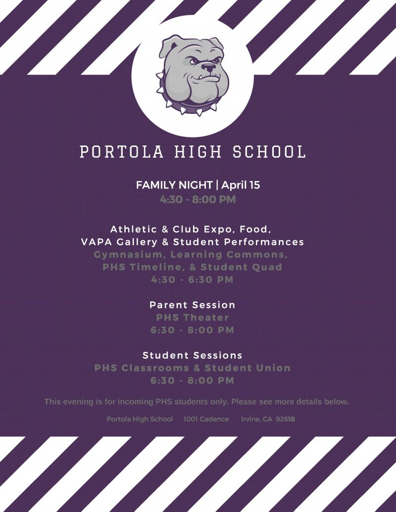 family night flyer 1