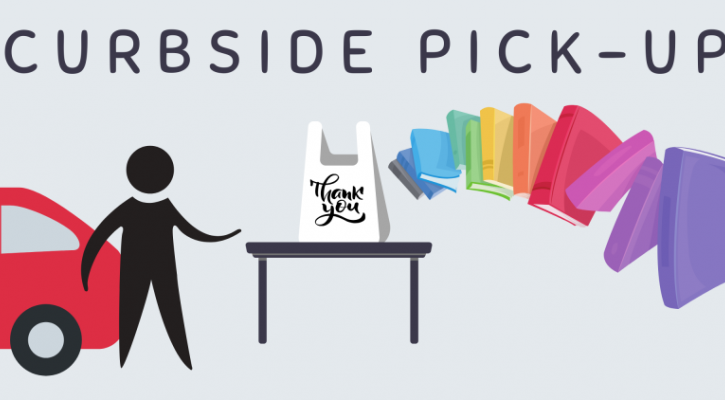 Curbside Pick-up- Kindergarten and 1st grade ONLY