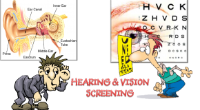 Vision and Hearing Testing- Kinder, 5th, and 8th Grade Only