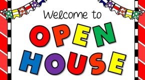 Open house- K-5th Grade
