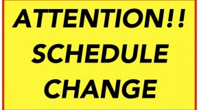 Middle School Schedule Change- Cohort A (On Campus- attend ODD periods)